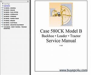 Case 580ck Model B Backhoe  U0026 Loader  U0026 Tractor Pdf