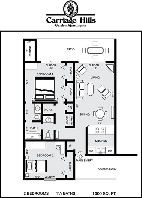 1000 sq ft apartment floor plans 1000 sq ft homes plan