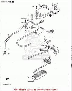 1987 Suzuki Intruder 700 Wiring Diagrams