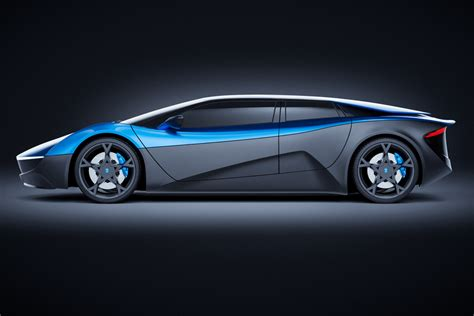 4 Door Electric Car by Lambo Ish 680 Hp 4 Door Electric Supercar Elextra Will