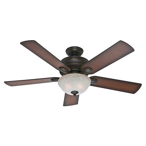 hunter fan light bulbs hunter fan company matheston onyx bengal ceiling fan with