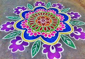 Rangoli Designs, Kolam, Images, Flowers, Pictures, Photos