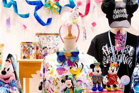 tokyo disneyland  anniversary merchandise