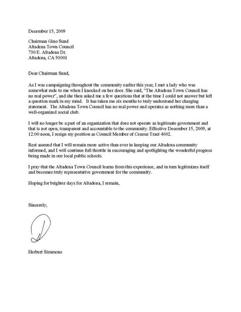 letter of resignation sle 25 best ideas about simple resignation letter format on 7484