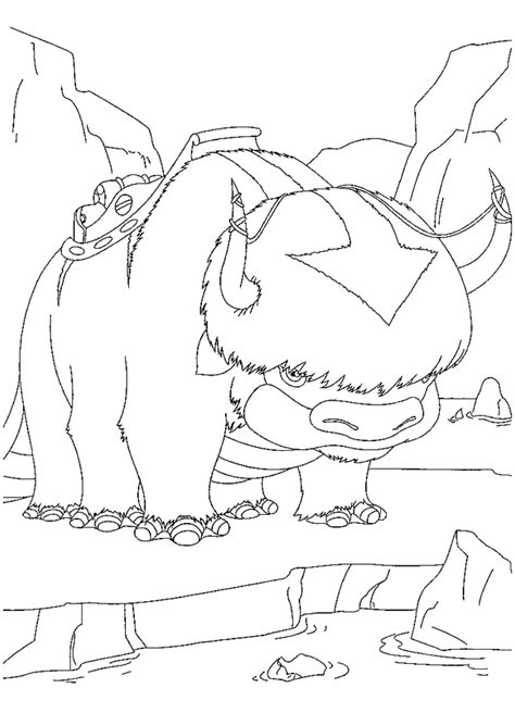 Avatar Coloring Pages by Coloring Page Avatar Coloring Pages 34
