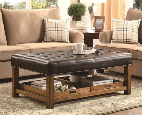 Large Ottoman Coffee Table by 12 Large Square Ottoman Coffee Table Ideas