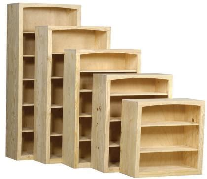 Pine Bookcases Furniture by Archbold Furniture 36 Quot Wide Pine Bookcase Oak Factory