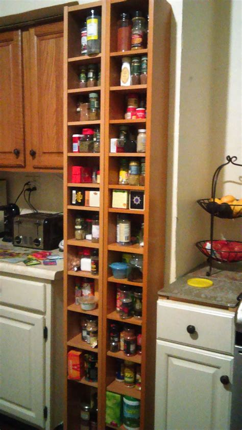 ikea cd rack    spice rack   kitchen