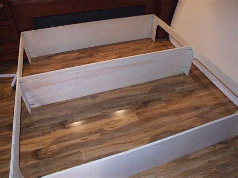 woodwork platform bed plans  drawers  plans