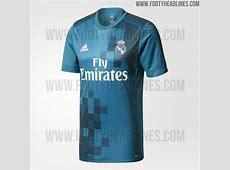 Real Madrid 1718 Third Kit Released Footy Headlines