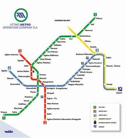 Athens Metro Transport System Greece Erasmus Station