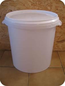 Seau Toilette Seche : seau en plastique alimentaire pour toilette seche ~ Premium-room.com Idées de Décoration