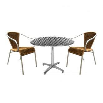 table et chaise de terrasse professionnel prix sur demande