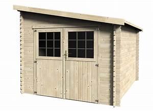 Abri De Jardin 5m2 Bois : abri de jardin bois mono pente 28 mm m jardideco ~ Dallasstarsshop.com Idées de Décoration