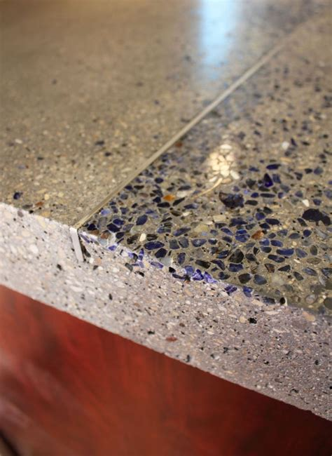 stone inlays sweet   inlay quartz vein concrete