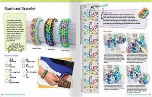 Loom Rubber Band Bracelet Patterns Diagram