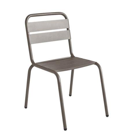 chaise drawer chaise de jardin design métal visalia par drawer fr