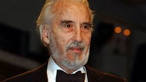 'Lord of the Rings' actor Christopher Lee dies at 93