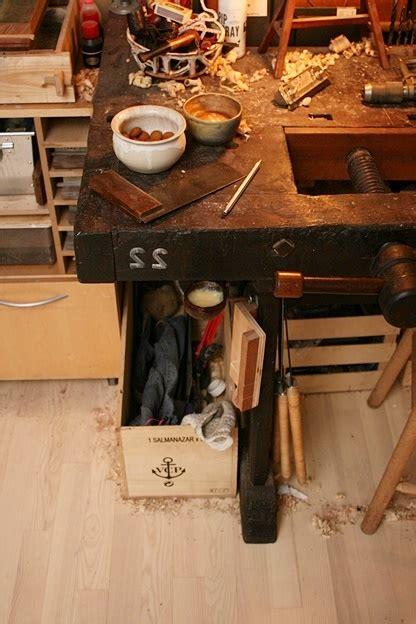 workbench restore scandinavian style  grease pot