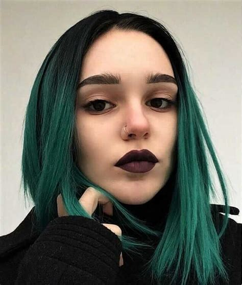 Hair Colors For With Green by 25 Green Hair Color Ideas You To See Cosmico