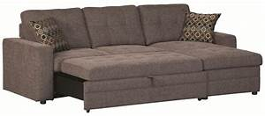 coaster 501677 gus sectional sofa chaise with storage and With gus sectional sofa with pull out bed and storage