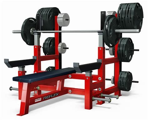 Olympic Flat Weight Bench  Reflex Fitness Products