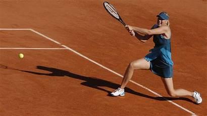 Tennis Maria Sharapova Wallpapers Court Desktop Background