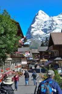 Town of Murren Switzerland