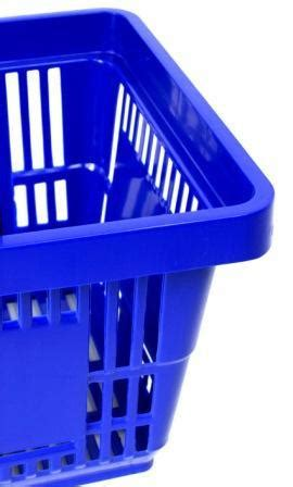 blue plastic shopping baskets filplastic uk
