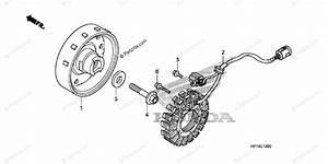 Honda Atv 2009 Oem Parts Diagram For Alternator