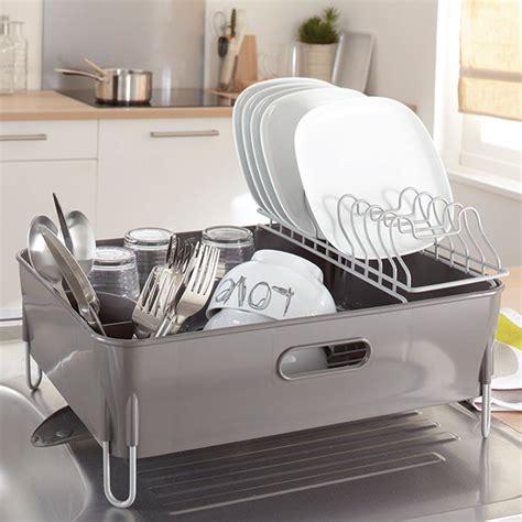 egouttoir à vaisselle avec bac et gouttière mathon