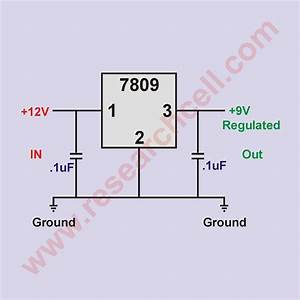 7809 Pin And Circuit Diagram  U00bb Research Cell