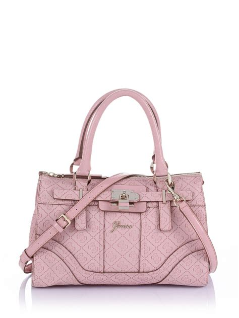 purse satchel handbag pink sema data  op