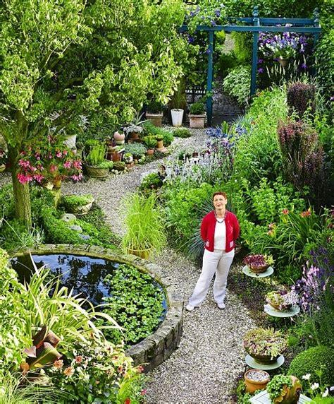 garden plans  long narrow gardens garden design