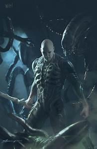 ArtStation - WIP! Alien Covenant / Prometheus Fan art ...