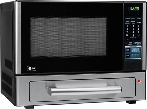 LG LCSP1110ST 1.1 cu. ft. Combination Countertop Microwave