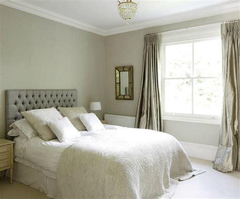 Gray Bedroom Drapes by Gray Tufted Headboard Design Ideas