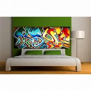 Papier Peint Sticker : papier peint t te de lit graf art d co stickers ~ Premium-room.com Idées de Décoration