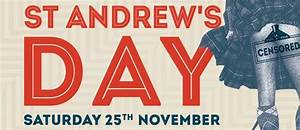 St Andrew's Day - Perth - Eventfinda