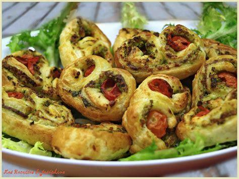 basilic cuisine palmiers au basilic pignons et tomates cerises blogs de