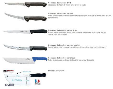 couteaux cuisine professionnel sogests couteaux de boucher couteau de cuisine