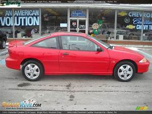 2001 Chevrolet Cavalier Z24 Coupe Bright Red / Medium Gray ...