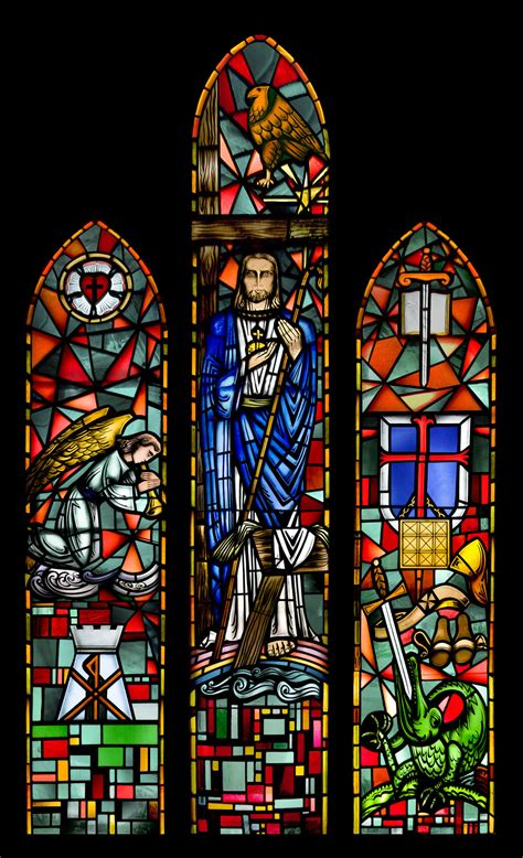 stained glass ls st s windows