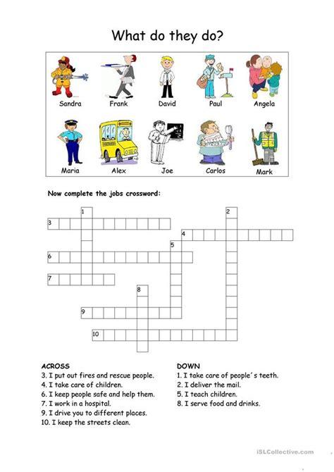 crossword worksheet free esl printable worksheets made by teachers