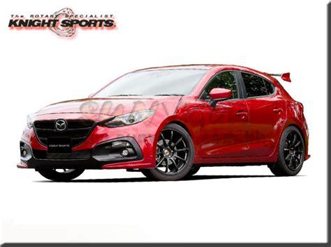 Mazda 3 Modification by Sports Mazda3 Bm Axela Modification Performance