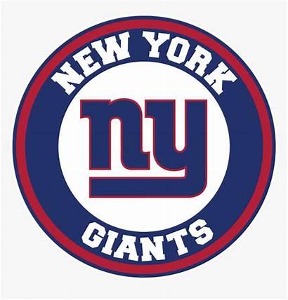 Giants York Ny Circle Decal Sticker Vinyl