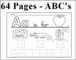 kearn to write alphabet abc unit 64 pages learn to write With learning to write alphabet templates
