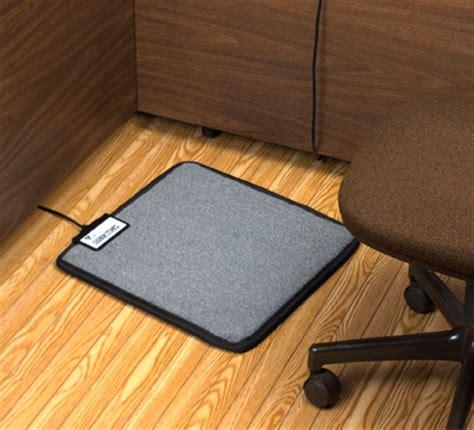heated floor mats foot warmer mat for your desk