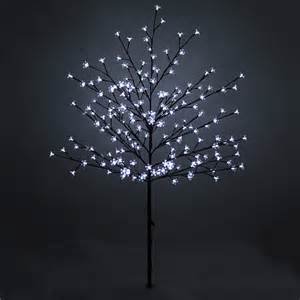 150cm 59 quot 200 led lights outdoor blossom tree outdoor pre lit tree ebay