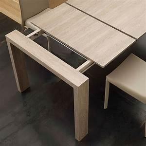 Table Extensible Jesi En MDF De Design Moderne